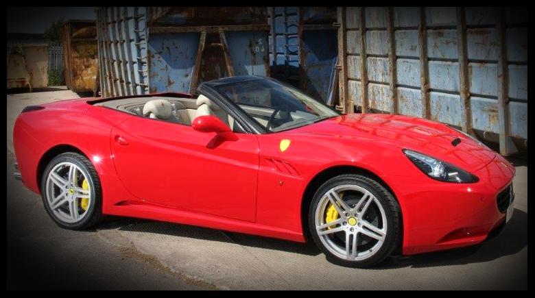 Ferrari California Replica Based On 2003 Mecedes Benz Sl