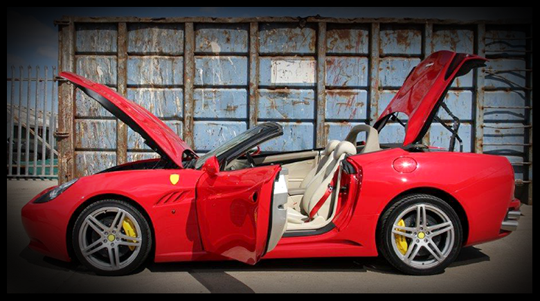 DNA Automotive Ferrari California Replica Car Kit For