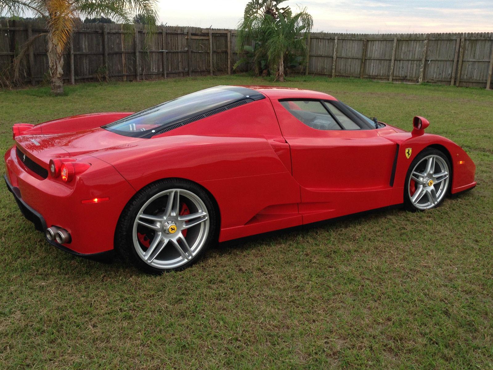 Lamborghini Miura Price >> Ferrari F430-based Enzo replica
