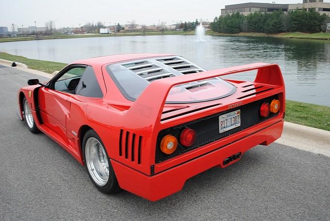 Ferrari f40 replicas ferrari f40 replica based on pontiac fiero 15 sciox Gallery