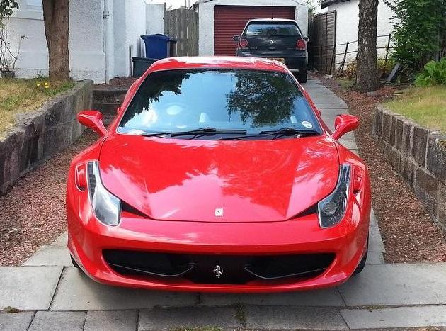 Amazing Ferrari 458 Italia Replica