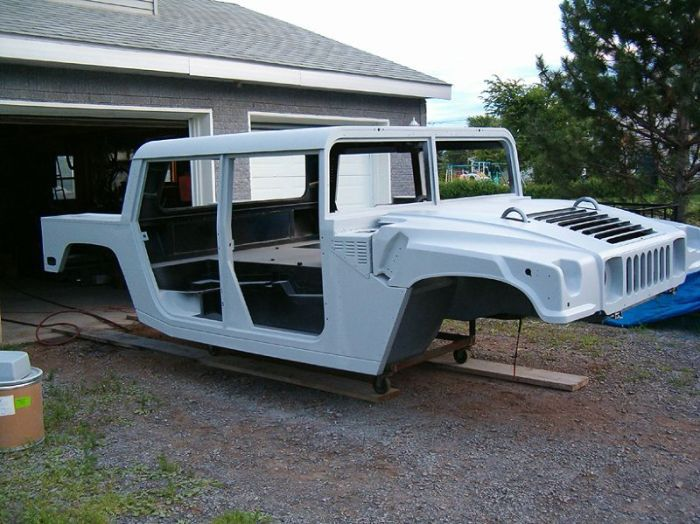 Hummer H1 Replica Based On Ford F150