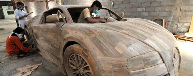 wooden bugatti veyron replica. Black Bedroom Furniture Sets. Home Design Ideas